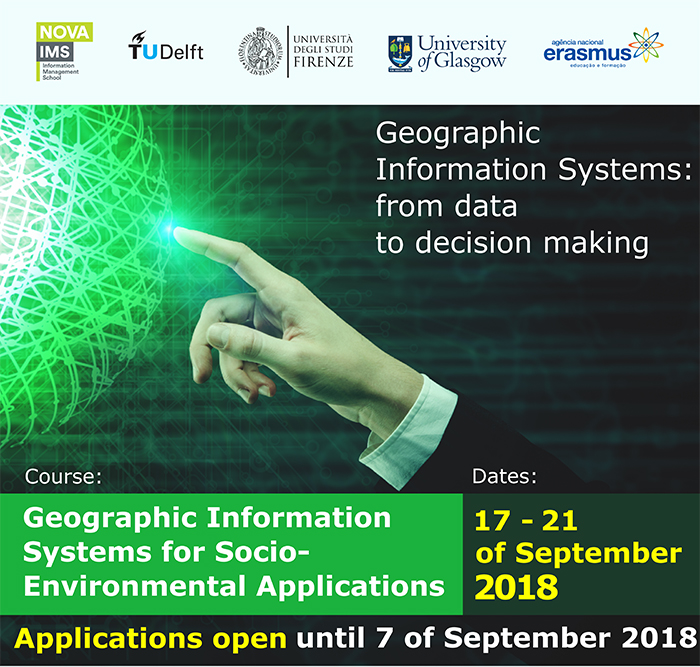 Geographical Information Systems Course Advert