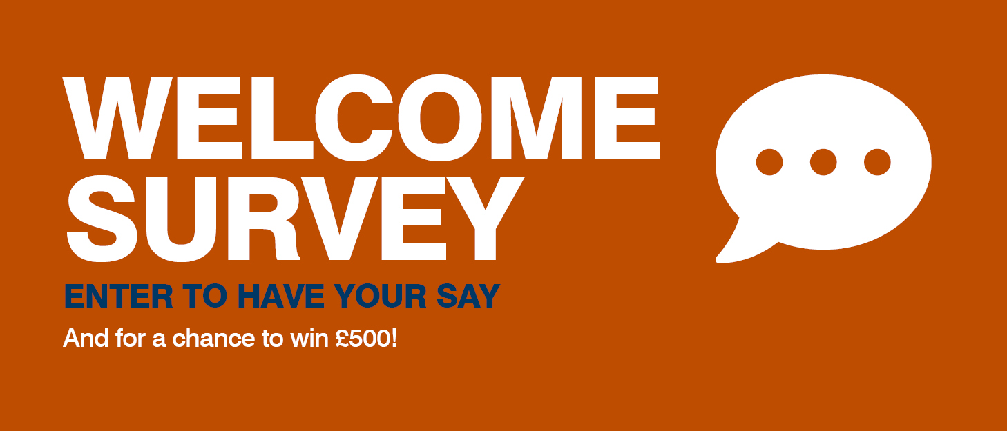 Welcome Survey 2018 700x300