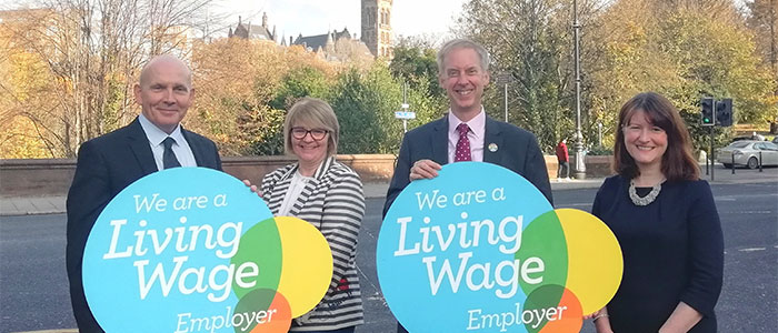Living wage 700