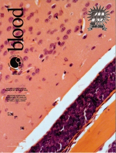 Blood, Volume 127, Number 16, April 21st 2016