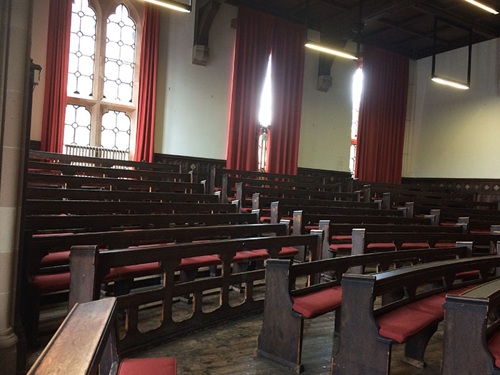 Humanities lecture theatre refurb before