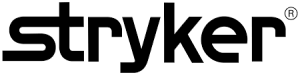 Stryker logo; the name Stryker in black on white