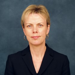 Portrait photo of Professor Margaret Lucas, Principal Investigator of the Ultrasurge programme, based at the University of Glasgow