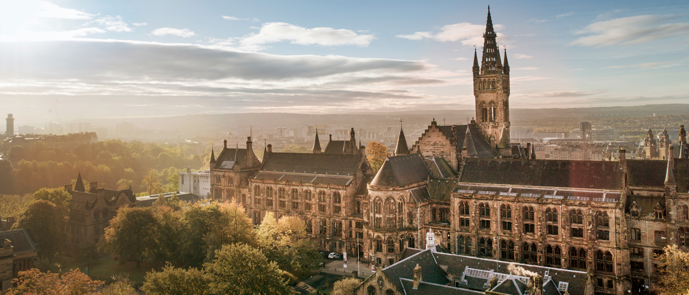 Photo from the official website of the University of Glasgow
