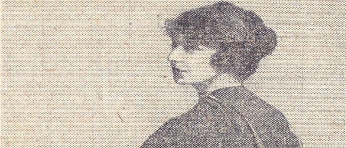 Madge Easton Anderson, Daily Record 16 December 1920 - Courtesy of The Mitchell Library, Glasgow Size 700 x 300