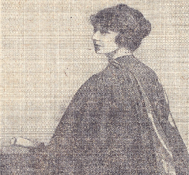 Madge Easton Anderson, Daily Record 16 December 1920 - Courtesy of The Mitchell Library, Glasgow 650