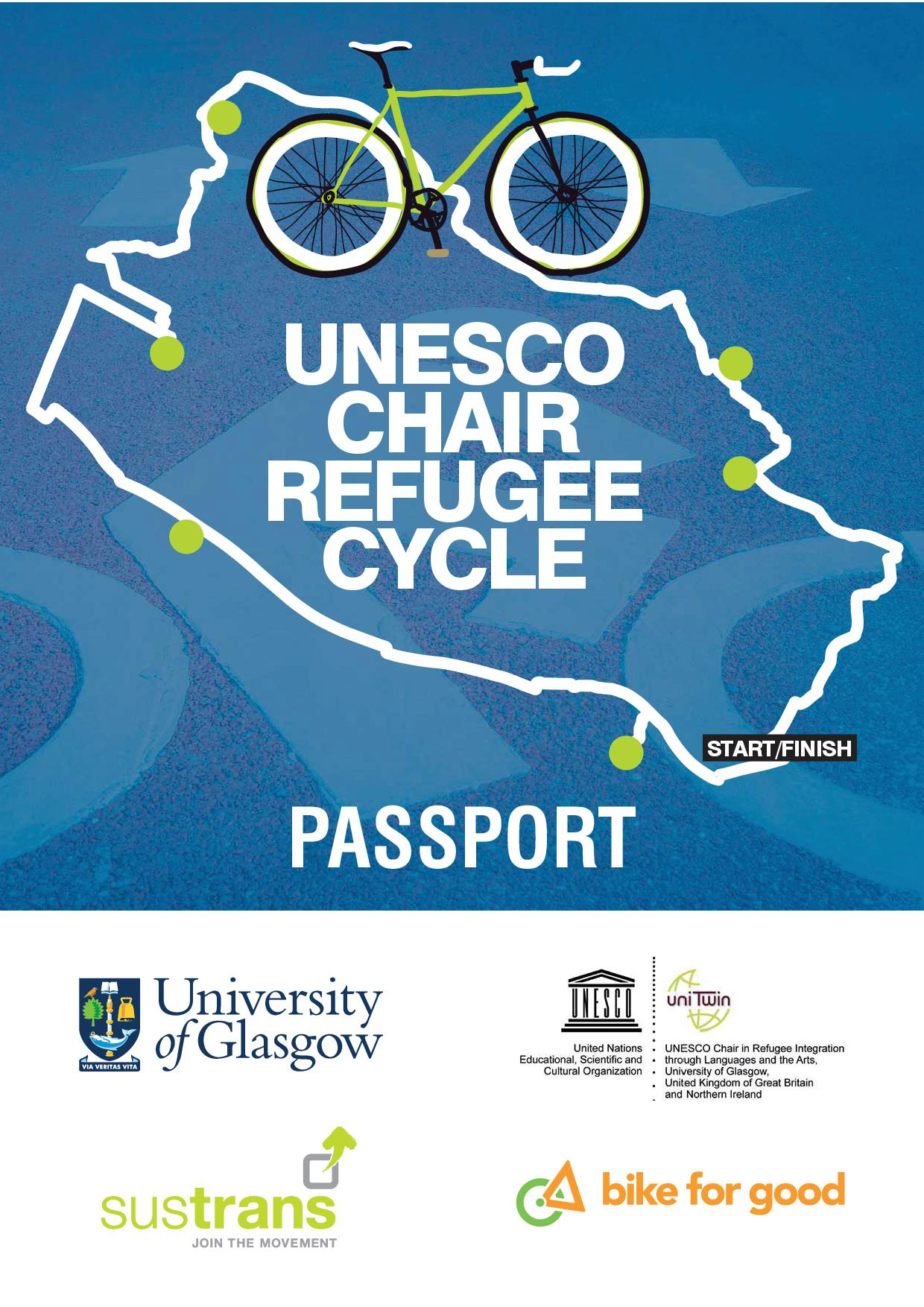 2018 Refugee Cycle Passport Front Page
