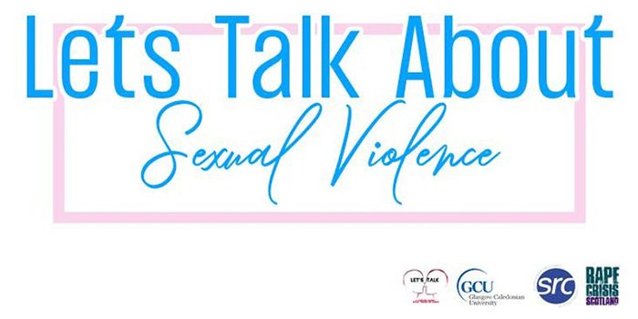 Let's Talk About Sexual Violence Banner