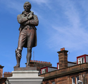 Burns Statue Ayr