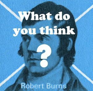 Picture stamp Robert Burns - what do you think?