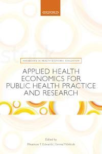 Photo of cover of OUP health economics book