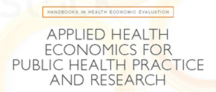 Health economics book cover