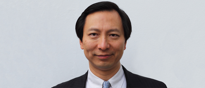 Photo of Shang-Jin Wei, Professor of Finance and Economics, who is attending as guest speaker of the Adam Smith Distinguished Speaker series on 25 June 2019.