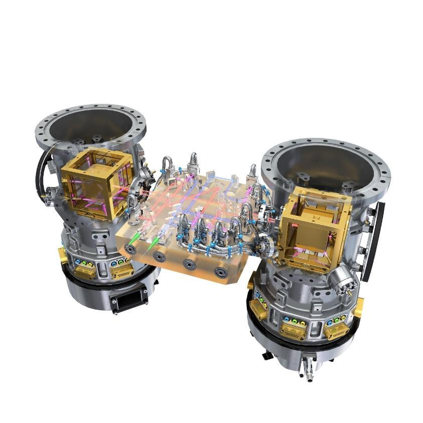 The LISA Pathfinder Core Assembly