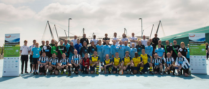 Image of European Fans in Training (EuroFIT) team