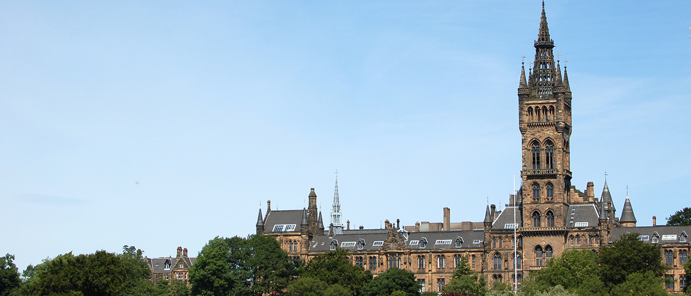 Image of University of Glasgow main building