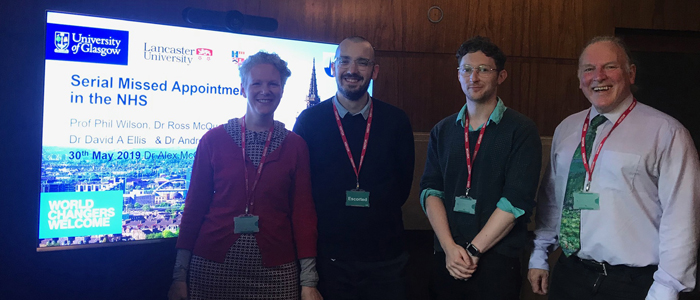 IHW staff present serial missed appointments research at Scottish Government event