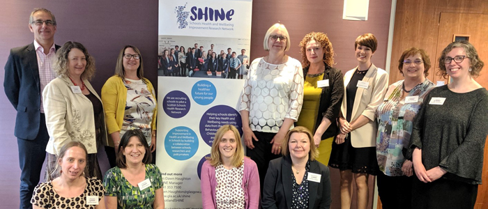 Photo of staff at SHINE conference 2019
