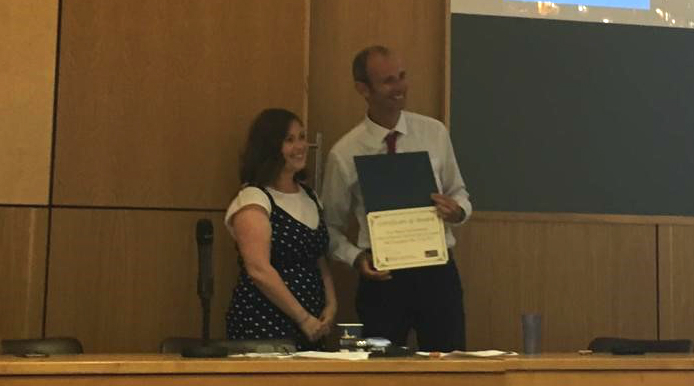 PhD student Caitlin Duncan wins best oral presentation