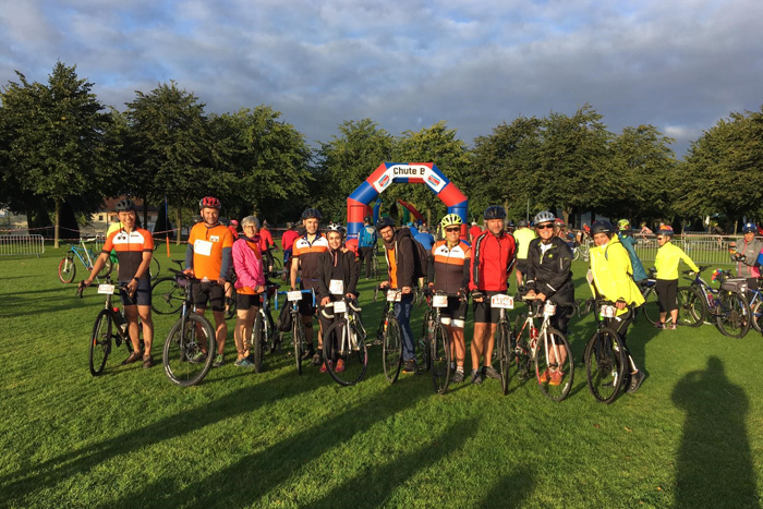 charity bike ride september 2019
