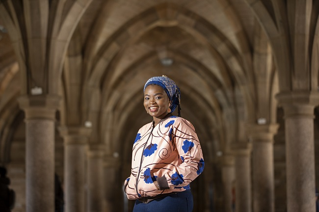 Photo of University of Glasgow  Future World Changer Sofiat Olaosebikan Photo Credit Martin Shields