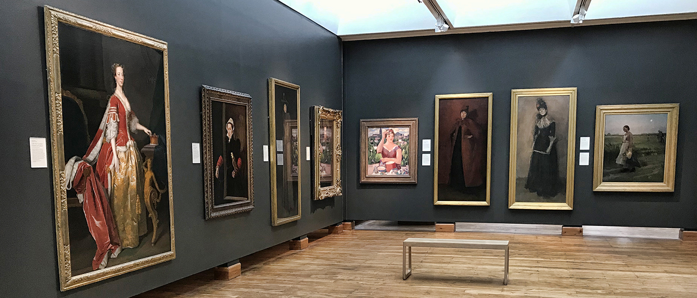 The Hunterian Art Gallery permanent displays