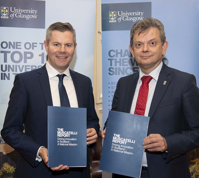 Professor Sir Anton Muscatelli has today (Wednesday 27 November 2019) launched a major new report on maximising the economic impact of the Higher Education sector