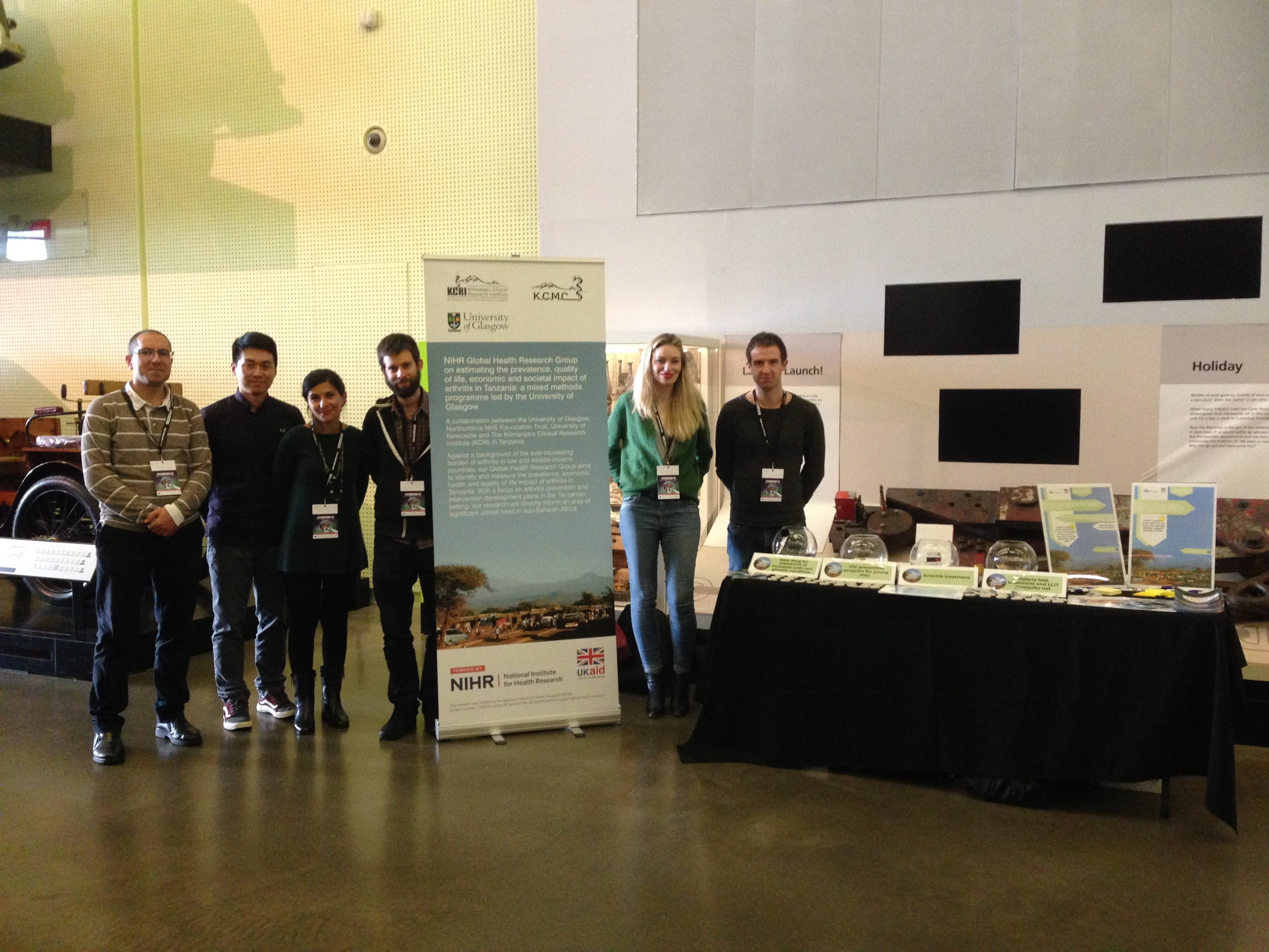 Photos of team at Explorathon'19