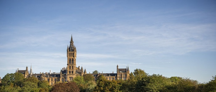 Image of the University of Glasgow main building