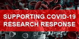 Virus image CVR Supporting COVID-19 Research Response