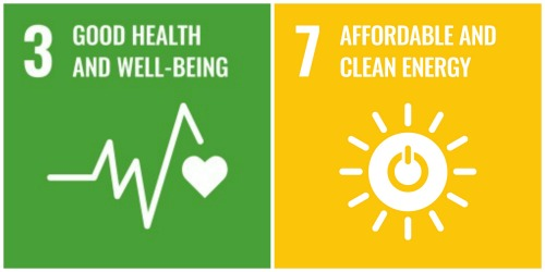 United Nations Sustainable Development Goal logos