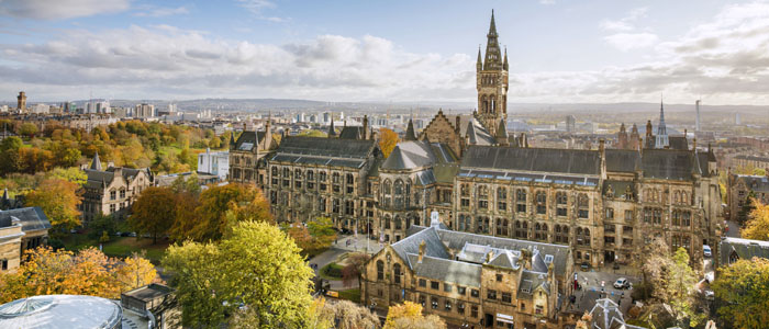 University of Glasgow Gilbert Scott Building