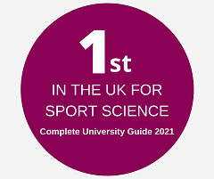 Number 1 in the UK for Sport Science