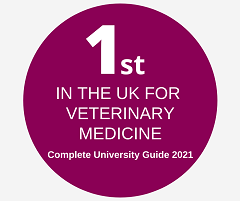 Number 1 in the UK for Veterinary Medicine