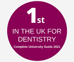 Number 1 in the UK for Dentistry