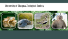 UofG Zoological Society homepage including images of mammals and birds