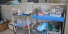 Clinical equipment in Malawi hospital.