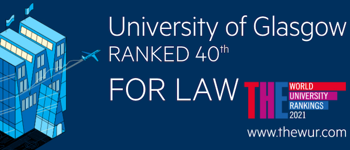 Times Higher Education Law ranked 40
