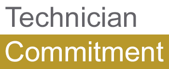 Logo for the Technician Commitment