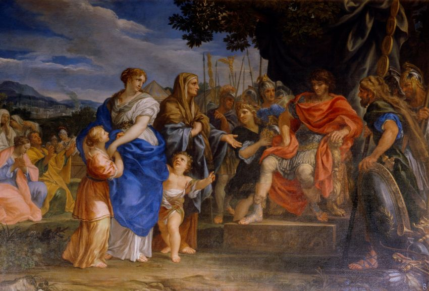 Ciro Ferri - Coriolanus at the gates of Rome - https://commons.wikimedia.org/wiki/File:Ciro_Ferri_-_Coriolanus_at_the_gates_of_Rome.jpg