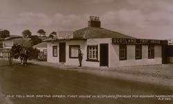 Old toll bar, Gretna