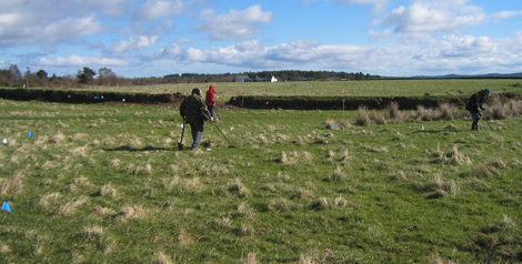 Metal Detector survey at the Battle of Culloden