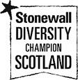 Stonewall Diversity Champion Logo White