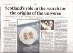 Sunday Herald article