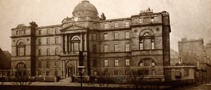 Old Royal, courtesy of Medical Illustration Services, Glasgow Royal Infirmary