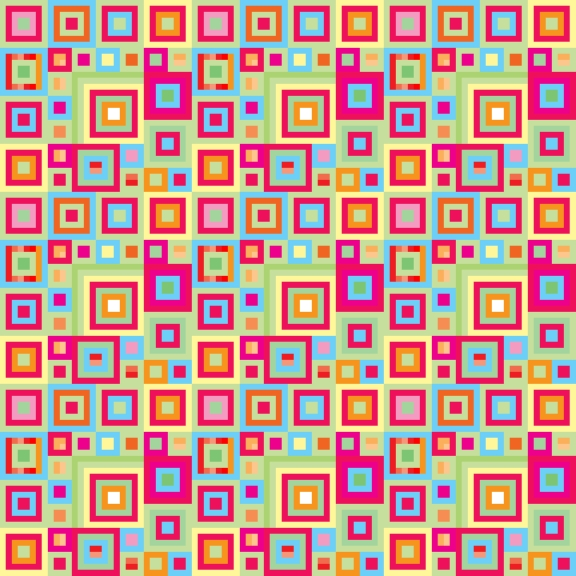 Illusion Patterns Non-moving test patternBright Colourful Patterns