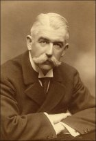 Photograph of the artist Ernest Arthur Binstead (1863-1941).  Copyright reserved.