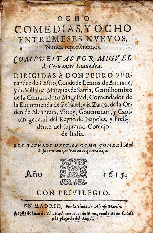 the life and literary works of miguel de cervantes saavedra Miguel de cervantes: miguel de cervantes,  in full miguel de cervantes saavedra, (born  supplied subject matter for several of his literary works,.