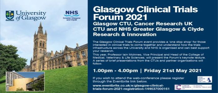 Image for Glasgow Clinical Trials Forum 2021