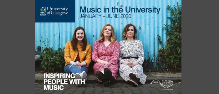 Image for Music in the University Lunchtime Concert Series:  Fergus McCreadie Trio